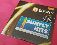 Karaoke CD+G disc, Sunfly Chart Hits Vol 296, see Description 16 tracks/arts