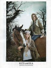Publicité 2012  RITA & ZIA collection mode vetement pret à porter accessoires