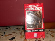 STORIA DE IL TERZO REICH - DAGLI INIZI AL 1939 - VHS HOBBY & WORK SIGILLATA