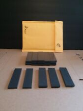 20 pieces- Black Plastic Delrin/ Acetal sheet/block lot