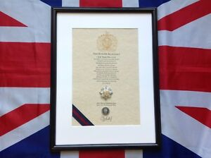Scots Guards Oath Of Allegiance (framed with Cap Badge)