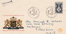 First day cover, Netherlands, Scott #435, Military Order of William, 1965