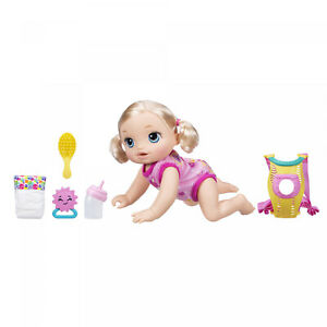 Baby Alive Baby Go Bye Bye Blonde Hair Doll 30+ Phrases And Sounds Ages 3 And Up