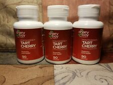 Montmorency Tart Cherry Dietary Supplement - 270 Count Joint Health Sleep #k45