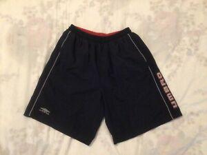 Umbro Men's Swim Shorts Medium Navy Zipped Pockets Good Ready To Wear Condition