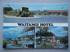 Waitangi Hotel Bay of Islands New Zealand Postcard