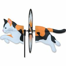 CALICO CAT Petite Garden Stake Wind Spinner by Premier Kites & Designs