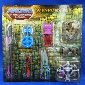 Masters of the Universe Classics MOTUC Weapons Pak: Ultimate Battleground New