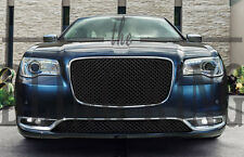Chrysler 300 Black Mesh Bentley Grill 2 piece grille Upper Lower Replacement