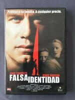 DVD FALSA IDENTIDAD John Travolta Vince Vaughn Teri Polo S Buscemi HAROLD BECKER