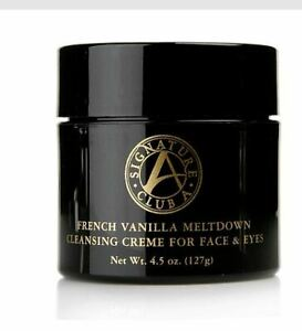 Signature Club French Vanilla Meltdown Cleansing Creme Face & Eyes 4.5 oz NEW