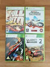 Restposten 4 x Xbox 360 Autorennen Spielepaket-Full Auto, Burnout, NFS, WRC 2