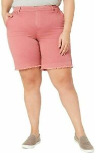 Style & Co Released Hem Shorts Mid-Rise Plus Size Color Options