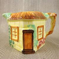 Cottage Oggetto Creamer Brocca Vintage Dipinto a Mano Novità Ceramica