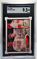 2012 Topps #446 Mike Trout Angels 2nd Year Card SGC 9.5  COMP to BGS/PSA