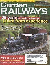 GARDEN RAILWAYS MAGAZINE DECEMBER 2005 VOL 22, NO 6