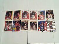 Hakeem Olajuwon Houston Rockets Lot of 12 Basketball Cards The Dream HOF!!!