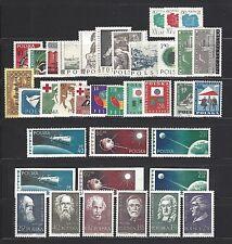 POLAND, POLEN, POLSKA Sc#839/885, 1959 Year Set of 37 Stamps  Mint NH w/OG
