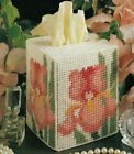A BREATH OF SPRING TISSUE COVER HOME DECOR PLASTIC CANVAS PATTERN INSTRUCTIONS