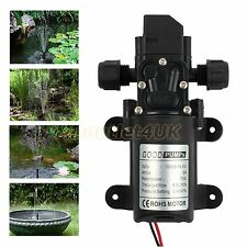 130PSI High Pressure Micro Diaphragm Water Pump Automatic Switch 4.8L/min 70W AU