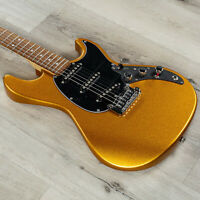 G&L Guitars CLF Research Skyhawk Electric Guitar, Pharaoh Gold Firemist