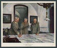 Farbbild GHQ Hauptquartier Pless Schlesien Pszczyna Wilhelm II U-Boot-Krieg 1917