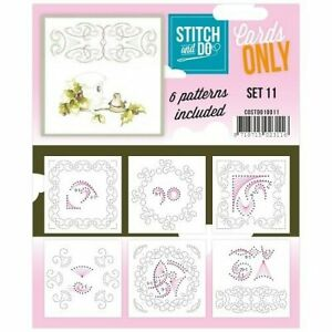 Stitch and Do Card Stitching Cardlayers Only - Set 11