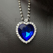 Heart Of The Ocean Pendant Beauty Necklace Blue Valentine Gifts For Lover Gift