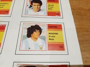 NO Panini World Cup Espana 82 - WM WK WC 1982 COMPLETE ALBUM ORIGINAL