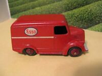 Dinky Toys Red Esso Delivery Van Trojan Meccano Ltd. English Vintage Die Cast