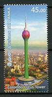 Sri Lanka Architecture Stamps 2019 MNH Colombo Lotus Tower Tourism 1v Set