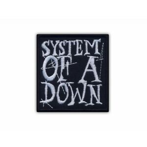 System of a Down Embroidered PATCH/BADGE