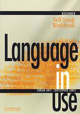 Idioma En Uso Principiante auto-estudio del libro de Adrian Doff, Christopher Jones (