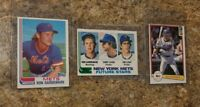 (3) Ron Gardenhire 1982 Topps Traded Donruss Rookie Card Lot Mets Twins RC