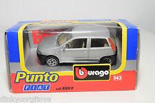 BBURAGO BURAGO 4100P 4100 P FIAT PUNTO METALLIC GREY MINT BOXED