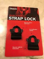 D'Addario Dual Lock Strap Lock System