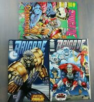 Group of 3 Comic Books - BRIGADE Books - One Dual Comic Brigade/Youngbloods