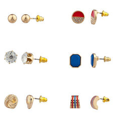 Lux July 4th Independence Day Love  knot Multi Earring Set (6Pc)