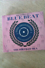 VARIOUS THE STORY OF BLUE BEAT THE BIRTH OF SKA 3 DISC PLAYED ONCE THEN STORED