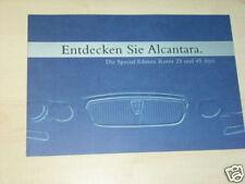 14793) Rover 25 + 45 Alcantara Prospekt 200?