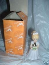 Enesco Growing Up Birthday Girl 4 Years Blonde box