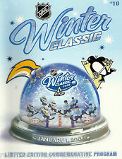 2008 NHL WINTER CLASSIC PITTSBURGH PENGUINS VS BUFFALO SABRES PROGRAM FIRST WC