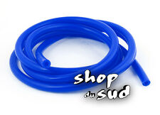 DURITE SILICONE BLEU SOUPLE Diam. 6mm X 11mm  Long 100CM Dépression Carburateur