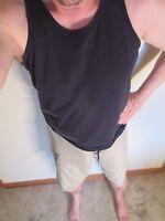 Etnies Boardshorts Surf Shorts swimsuit 36 Large Beige NEW Mens