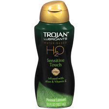Trojan Lubricants H2O Sensitive Touch 5.5 oz Water-Based Personal Lube