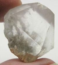 Blue Tara Quartz Reibeckite Tourmaline Olenite Crystal #8A Ippuparia Brazil