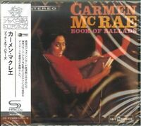 CARMEN MCRAE-BOOK OF BALLADS-JAPAN SHM-CD C94