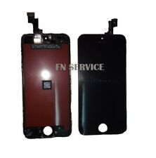 TOUCH SCREEN + LCD DISPLAY RETINA FRAME PER APPLE IPHONE 5S SCHERMO NERO