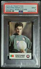 2004 UK Traditions World Stars Cristiano Ronaldo Rookie Card RC PSA 9 Mint