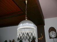 Dekorative Lampe Deckenlampe Jugendstil Nachbau ca. 50 Jahre alt